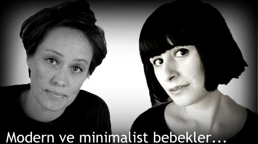 Minimalist ve modern bebekler