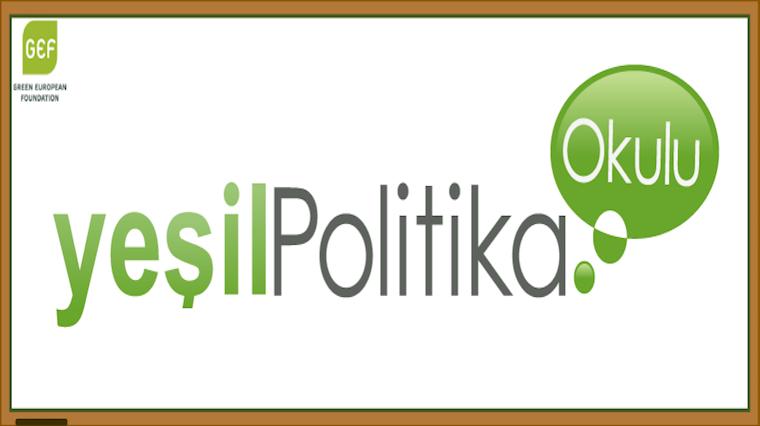 Yeşil Politika Okulu'nun kitabı basıldı