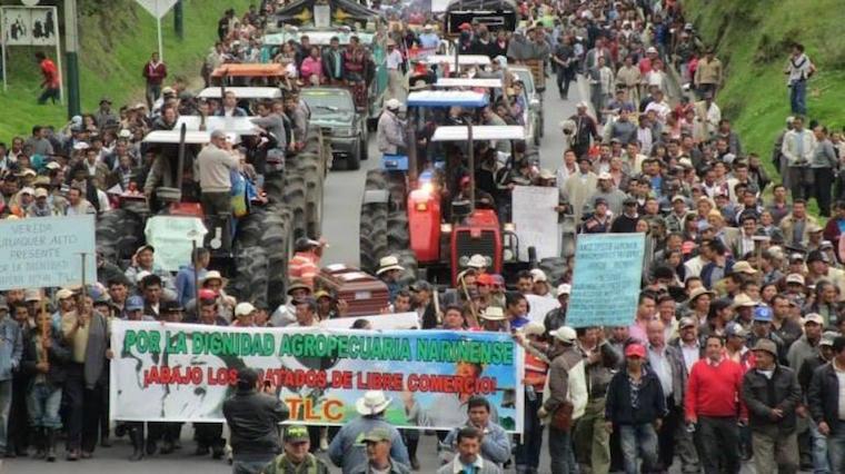 Kolombiyalı çiftçiler kazandı