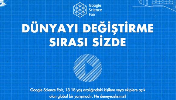 Google Bilim Fuarı'nın kazananı 16 yaşındaki Elif!