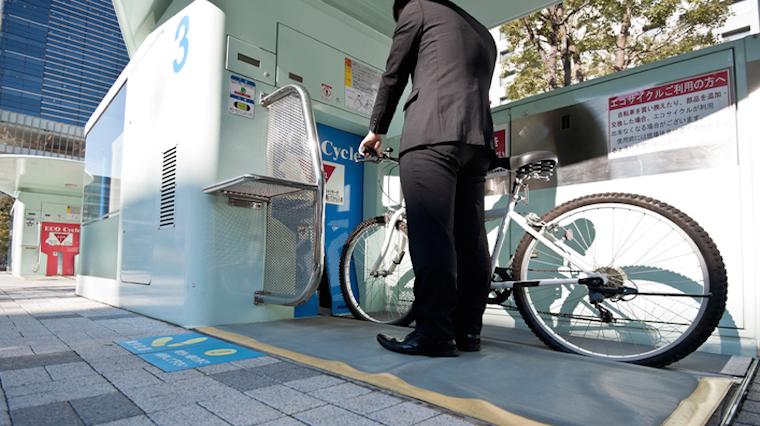 Bisiklet park etme teknolojisinde son nokta