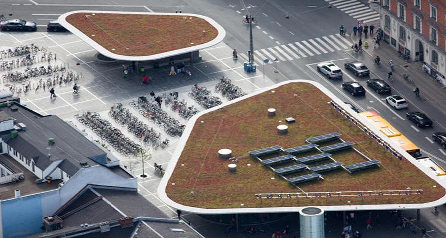 Avrupa'nın Sürdürülebilir Değişimini Havadan Gösteren 10 Fotoğraf