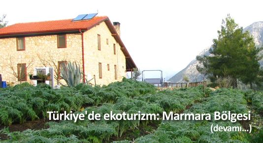Türkiye'de ekoturizm: Marmara Bölgesi