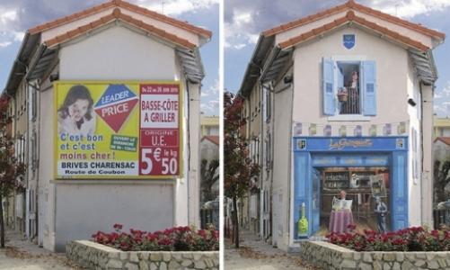 Şehrin sıkıcı duvarlarına yeniden hayat veren Fransız