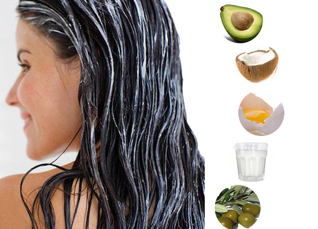 Parlak Saçlar için Doğal Maske Önerileri