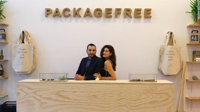 Sıfır atığı kolaylaştıran mağaza açıldı: Package Free