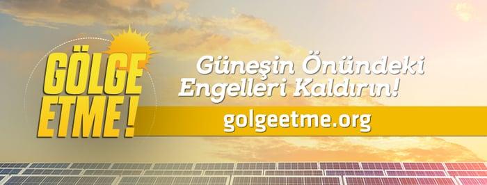 Greenpeace'den Enerji Bakanlığı'na: Gölge etme; güneşin önündeki engelleri kaldırın!
