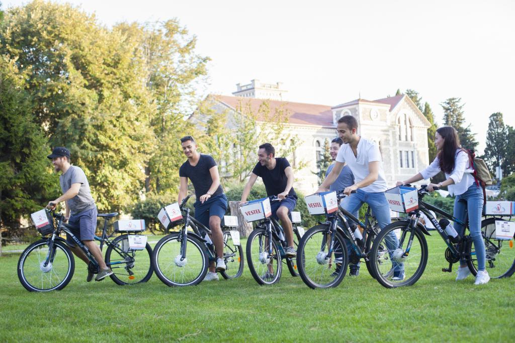 Boğaziçi Üniversitesi'nde elektrikli bisiklet devri başlıyor