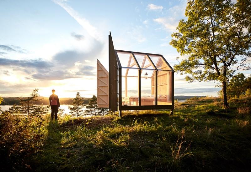 İsveç'ten strese karşı doğanın ortasında bir deney: 72 saatlik camdan kulübe