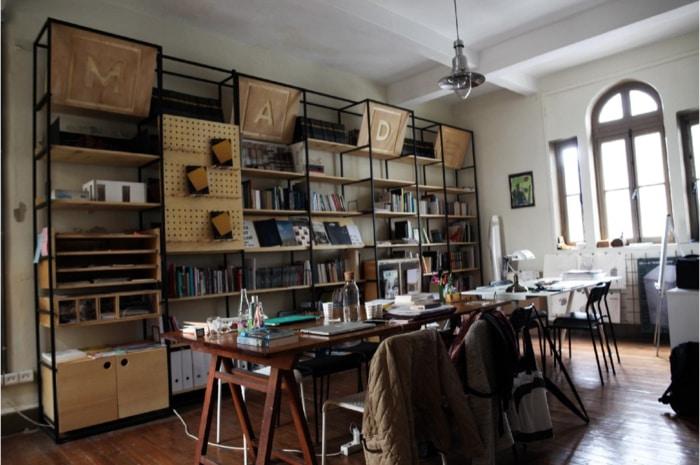 Kent araştırmacıları için araştırma ve çalışma alanı: MAD Kütüphane
