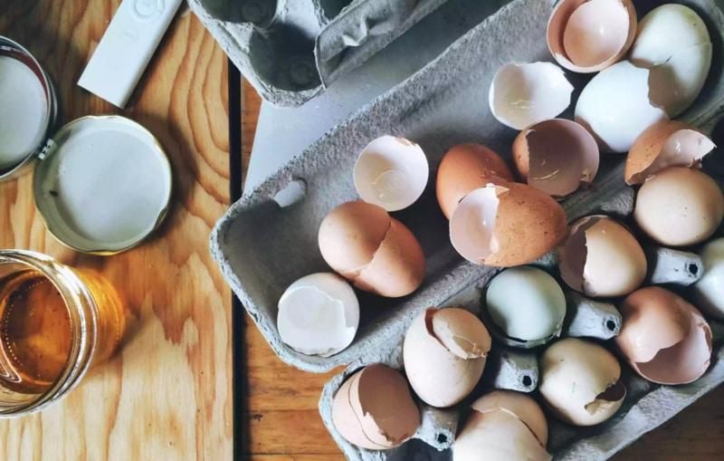 Yumurta kabuklarını atmayın: Ev yapımı bitki gübresi tarifi