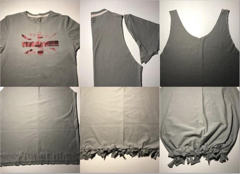 Eski tişörtlerinizi bez çantaya dönüştürün. Hem de dikiş gerektirmeyen, çok kolay bir teknikle!