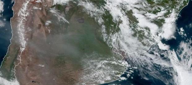 Avustralya yangınlarının dumanı 12 bin km uzaklıktaki Brezilya'ya ulaştı