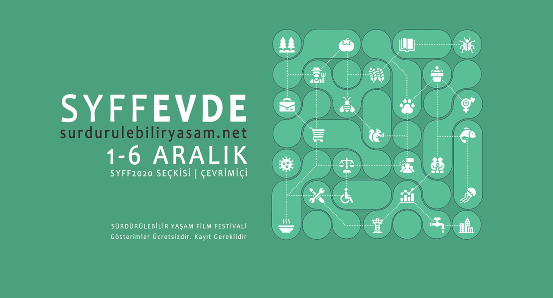 Sürdürülebilir Yaşam Film Festivali 2020 Başlıyor