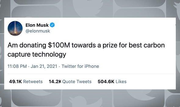 Elon Musk en iyi karbon yakalama teknolojisine 100 milyon dolar verecek – Yeşilist   Herkes için yeşil