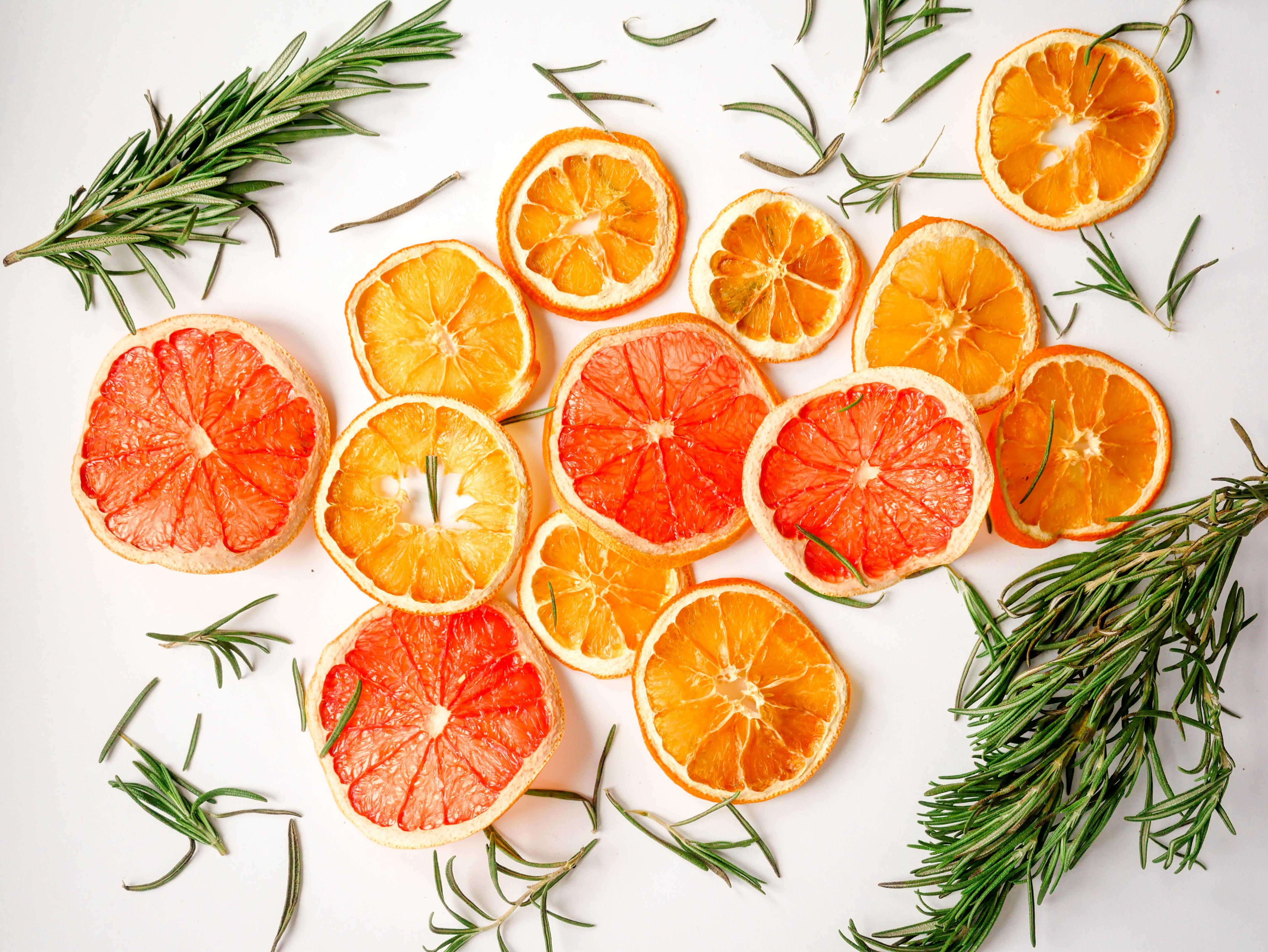 Portakallı, mandalinalı maş fasulyesi salatası